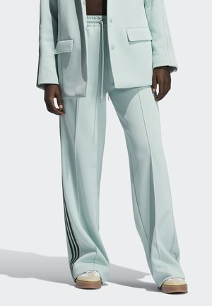 Ivy Park Logo 3 Stripe Suit Pant - Tracksuit bottoms - greentint/darkgreen