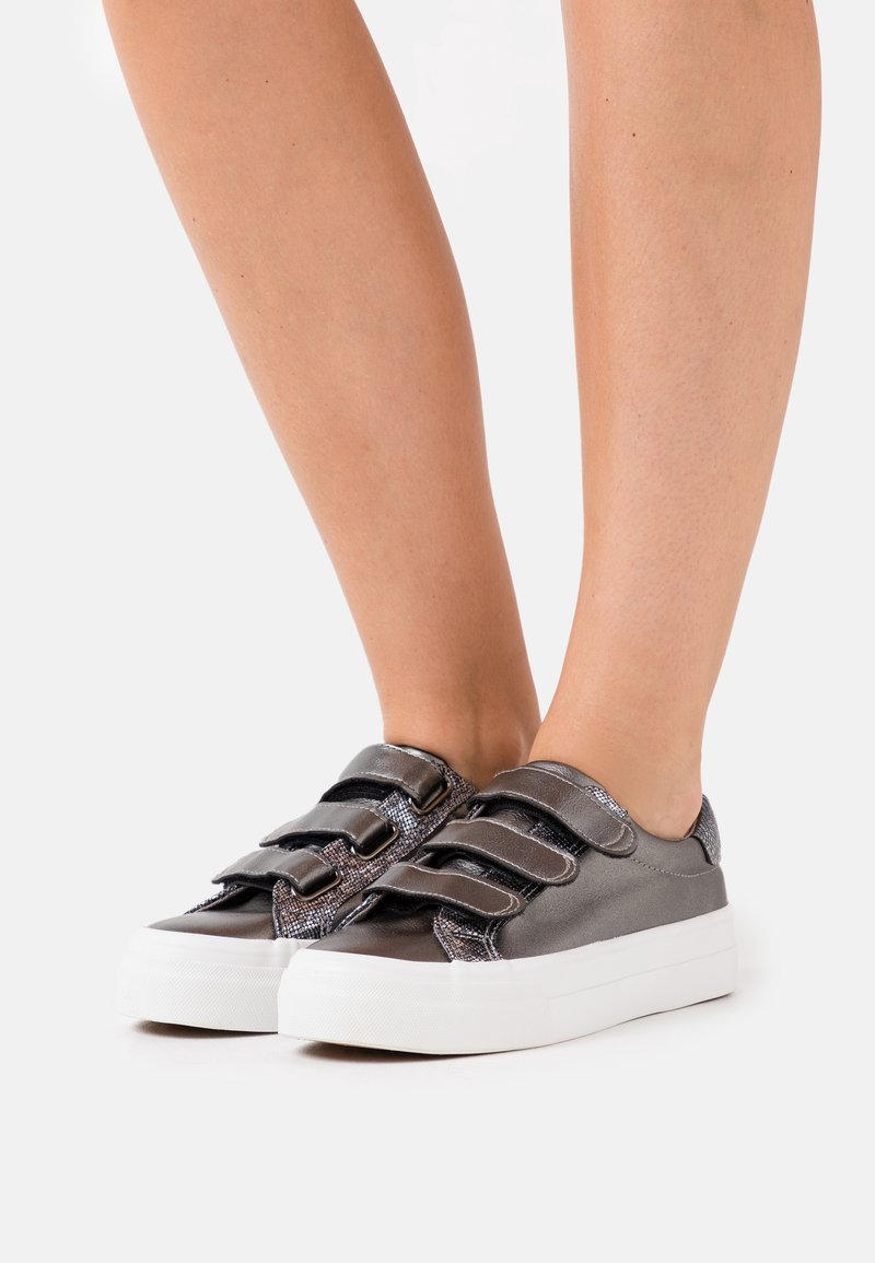 Simply Be - GRETA WIDE FIT  - Trainers - pewter