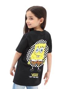 Vans - BY VANS X SPONGEBOB  SPOTLIGHT KIDS PCKT - Print T-shirt - spongebob spotlight - 1