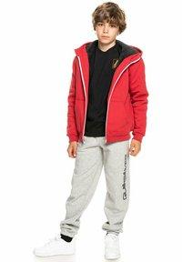 Quiksilver - BEST WAVE YOUTH - Zip-up sweatshirt - american red - 0