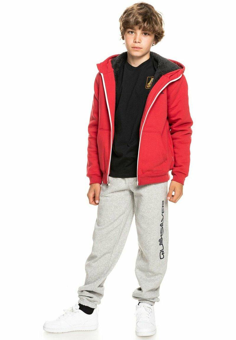 Quiksilver - BEST WAVE YOUTH - Zip-up sweatshirt - american red
