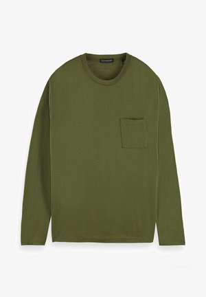 Pitkähihainen paita - army