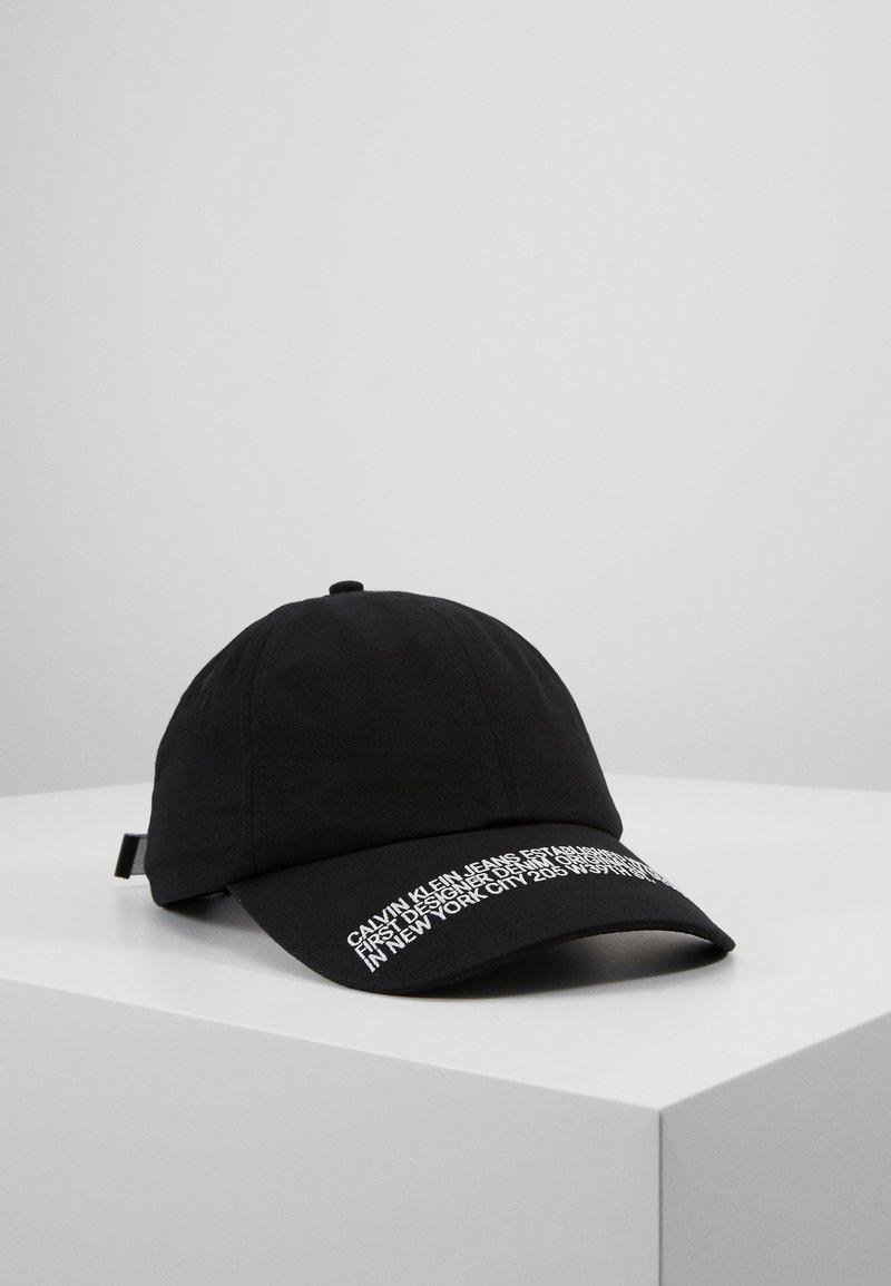Calvin Klein Jeans - SPORT ESSENTIALS WEBBING - Czapka z daszkiem - black