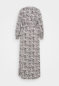 Missguided Plus - PLUNGE DRESS LEOPARD - Maxi dress - black - 1