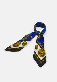 Versace Jeans Couture - REGALIA BAROQUE SCARF UNISEX - Foulard - midnight/gold-coloured - 1