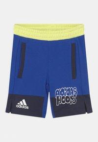 adidas Performance - BASKETBALL UNISEX - Sports shorts - bold blue/legend ink/pulse yellow - 0