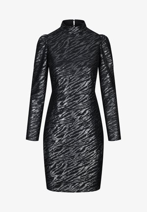 MIT PUFFÄRMELN - Cocktailkleid/festliches Kleid - schwarz