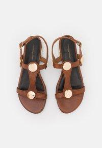 Copenhagen Shoes - NEW ELIZA - Sandały - tan - 5