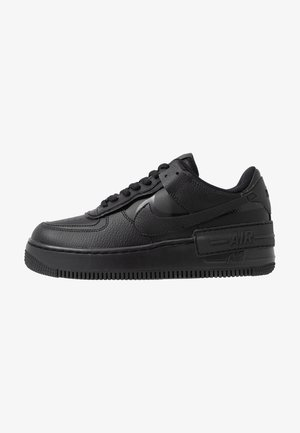 AIR FORCE 1 SHADOW - Zapatillas - black