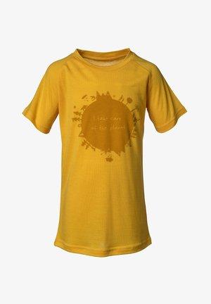 EARTH - T-shirt med print - saffron