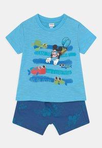 OVS - SET - Print T-shirt - blue radiance - 0