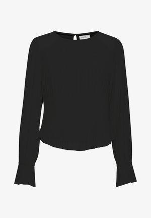 DRMINI - Bluzka z długim rękawem - black