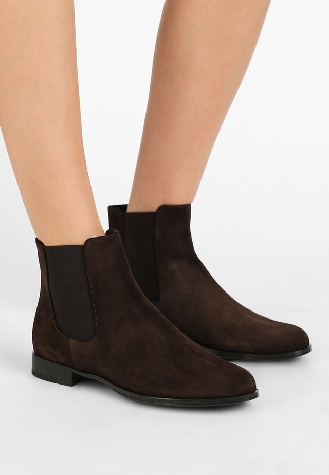 CROSTINA - Ankle Boot - marmotta