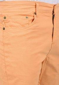 Solid - Denim shorts - orange chi - 3