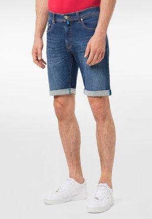 Denim shorts - grau schwa