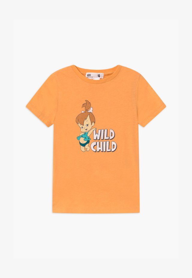 WARNER BROS SHORT SLEEVE - T-shirt print - papaya