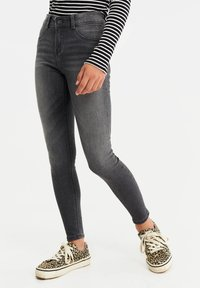 WE Fashion - Jeggings - grey - 0