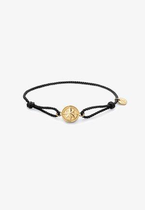 Bracelet - schwarz/gold