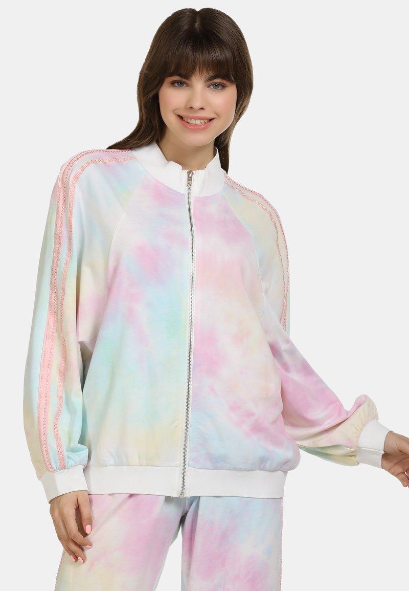 myMo - Summer jacket - pink/blue/yellow