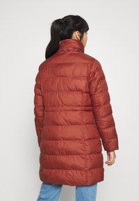 G-Star - WHISTLER SLIM LONG COAT - Zimní kabát - dry red - 3