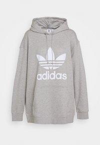 adidas Originals - HOODIE - Hoodie - grey/white - 5