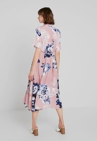 French Connection - CORSETTA DRAPE DRESS - Maxi dress - cinder pink/multi - 3