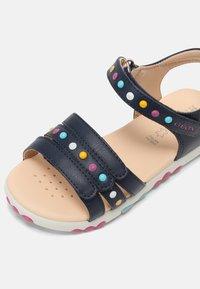 Geox - HAITI GIRL - Sandals - navy - 4