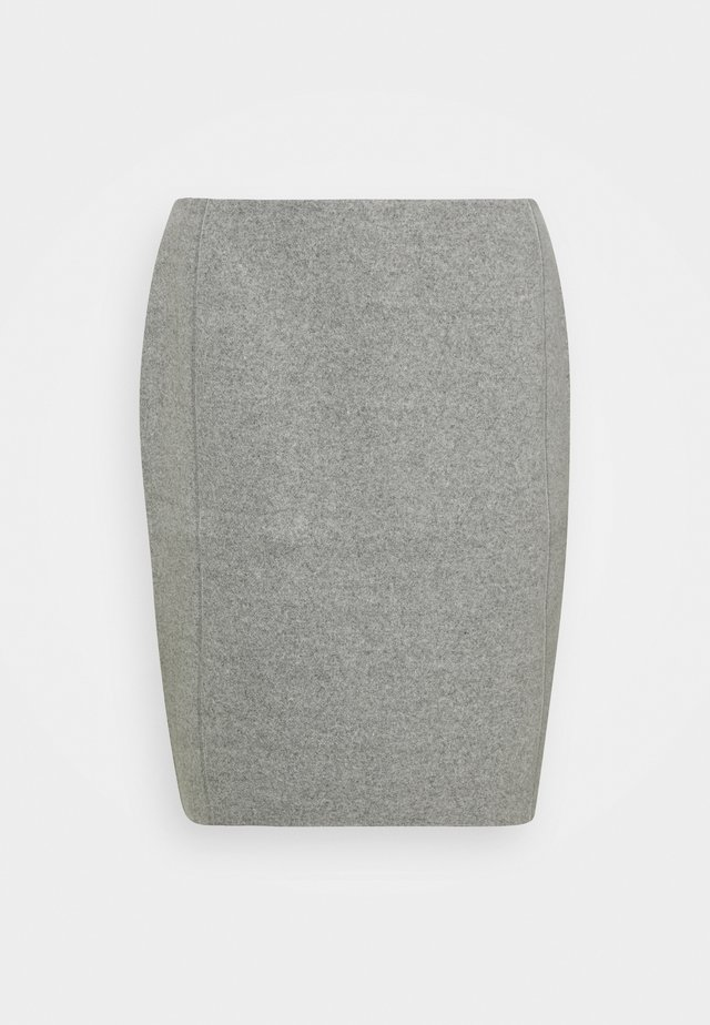 ODENA SOFT - Minigonna - good grey