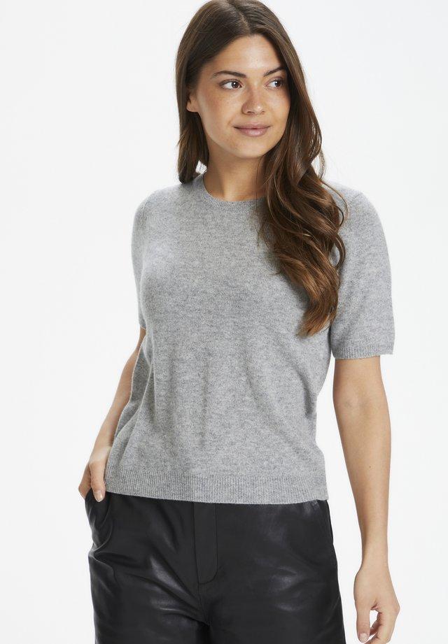 EVERLOTTEPW  - Basic T-shirt - grey melange