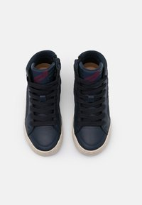 Geox - KALISPERA GIRL - Sneakersy wysokie - navy/prune - 3
