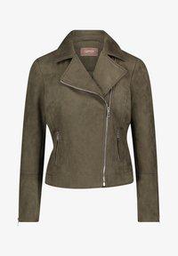 Cartoon - Faux leather jacket - dunkelgrün - 0