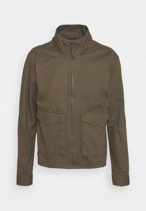 HUGH - Summer jacket - khaki