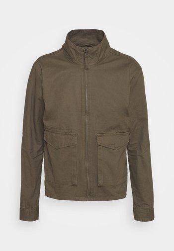 HUGH - Summer jacket - khaki