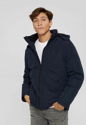 RECYCELT: WATTIERTE - Light jacket - navy