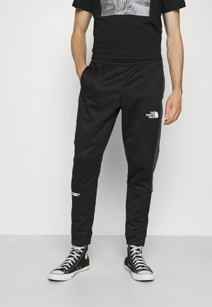 CUFFED PANT - Träningsbyxor - black