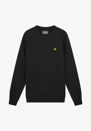 CREW NECK FLY FLEECE - Sweater - true black