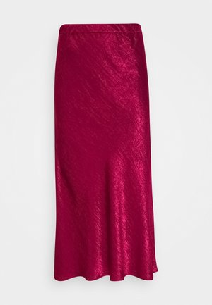 SKIRT  - Maxi sukně - plum