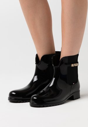 BLOCK BRANDING RAINBOOT - Stivali di gomma - black