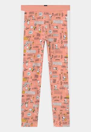PEANUTS UNISEX - Tights - apricot blush