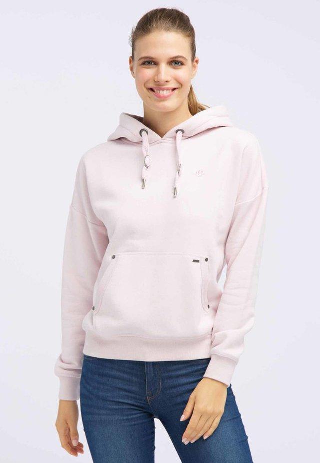 Bluza z kapturem - light pink