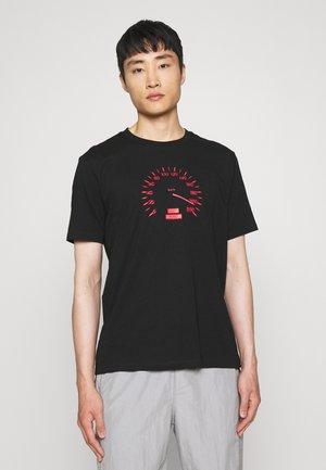 DRAMBLE - T-shirt z nadrukiem - black