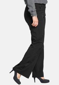 Sheego - Trousers - black - 3