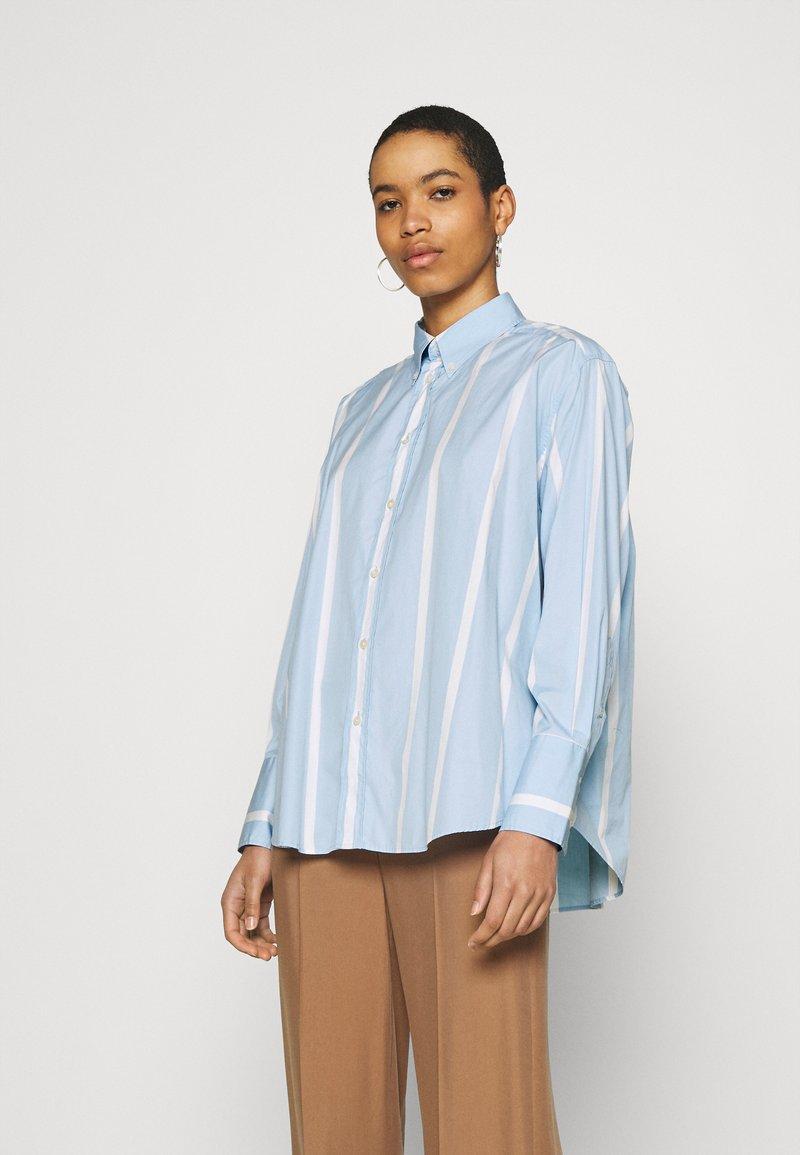 Hope - TRIP - Button-down blouse - light blue