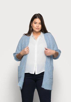 SLFLIA LONG CARDIGAN - Cardigan - cashmere blue