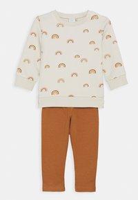 Lindex - RAINBOW SET - Sweatshirt - light beige - 0