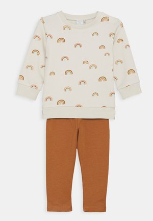 RAINBOW SET - Sweatshirt - light beige