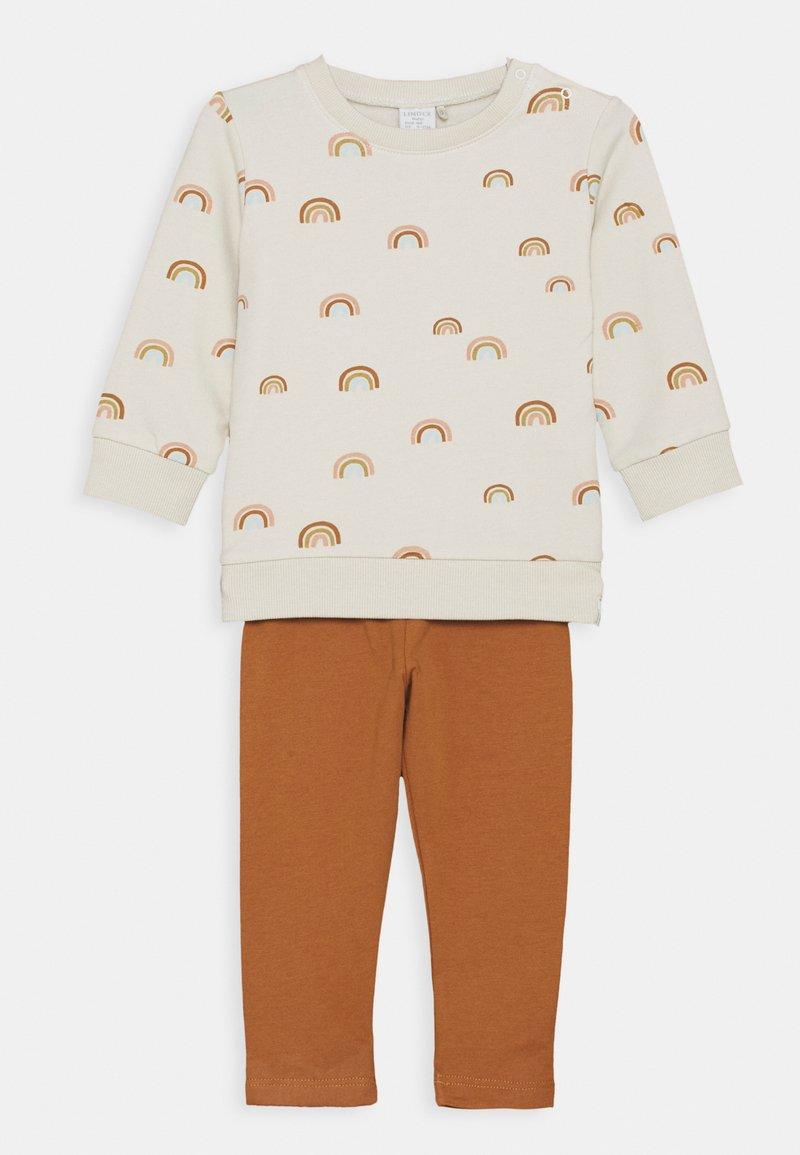 Lindex - RAINBOW SET - Sweatshirt - light beige
