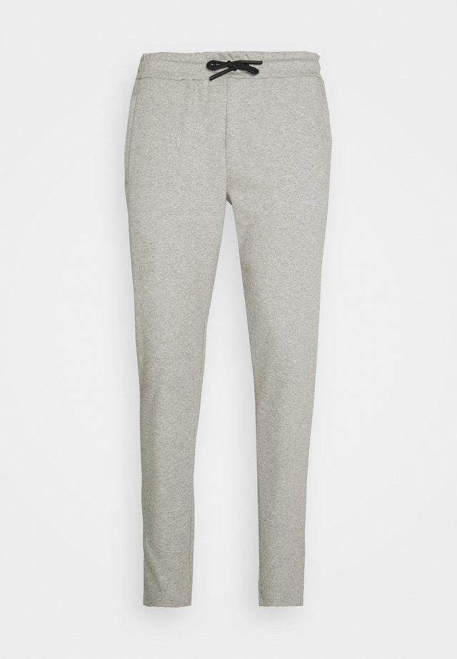 MOREL PANTS - Træningsbukser - mid grey melange