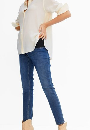 MTERNITY-I - Jeans Skinny Fit - donkerblauw