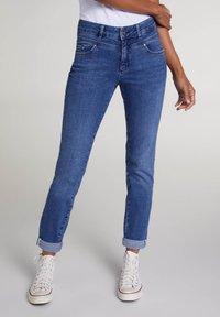 Oui - Slim fit jeans - blue denim - 0